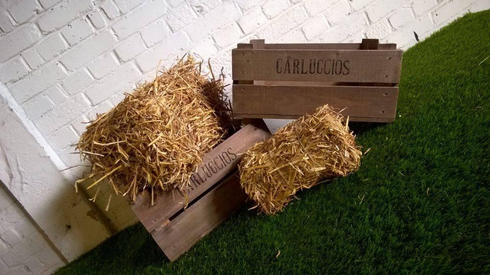 Miniature Haystacks